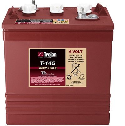 Trojan T-145电瓶