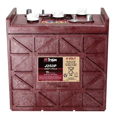 Trojan J250P-AC电瓶