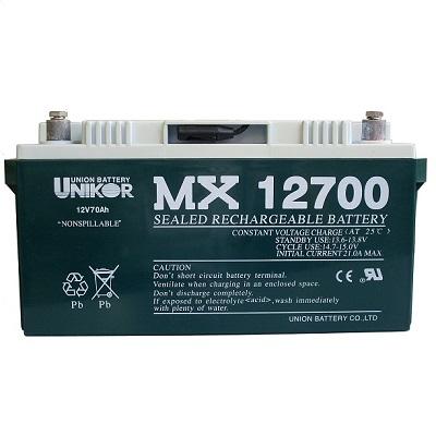 MX12700(12V70AH)