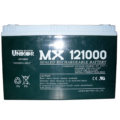 MX121000(12V100AH)